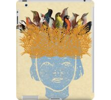 Bird nest head iPad Case/Skin
