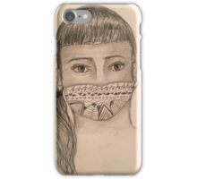 Rosy In a Mask iPhone Case/Skin