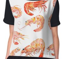 shrimp Chiffon Top