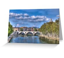 The Tiber Greeting Card