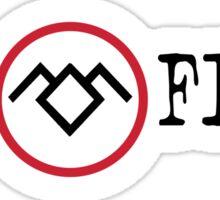 The Twin Peaks Files Sticker