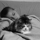 Napping Duo by Jokaylena Leonard