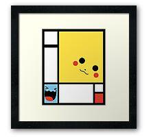 P K Mondrian Framed Print