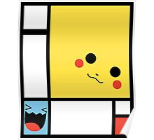 P K Mondrian Poster