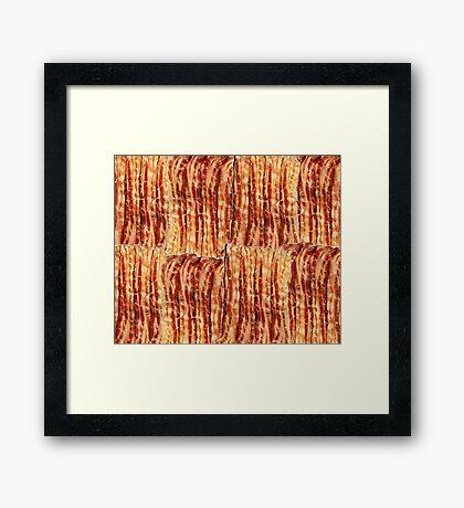 Bacon Breakfast Framed Print