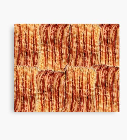 Bacon Breakfast Canvas Print