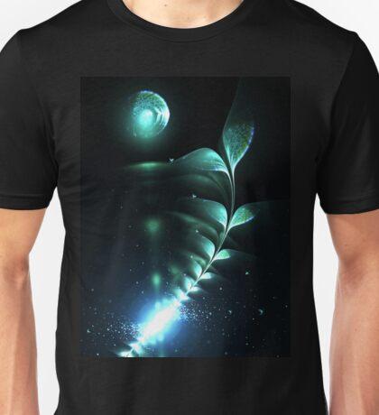 Alien Plant - Abstract Fractal Artwork T-Shirt