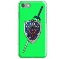 Legend Of Zelda - Sword&Shield  iPhone Case/Skin