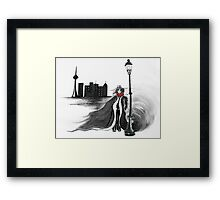 Detective Docherty and the Demon's Tears  Framed Print