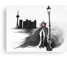 Detective Docherty and the Demon's Tears  Canvas Print