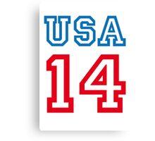 USA 2014 Canvas Print
