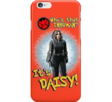 Who's That Inhuman? It's Daisy! iPhone Case/Skin