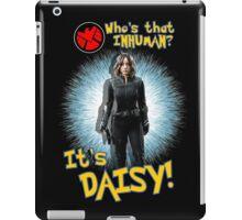 Who's That Inhuman? It's Daisy! iPad Case/Skin