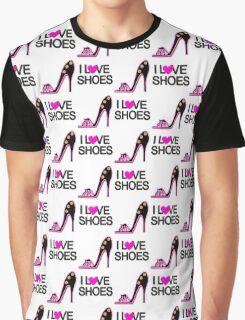 FASHION LOVING SHOE QUEEN DESIGN Graphic T-Shirt