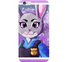 Zootopia Judy Hopps Clever Bunny Digital Illustration iPhone Case/Skin