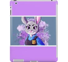 Zootopia Judy Hopps Clever Bunny Digital Illustration iPad Case/Skin