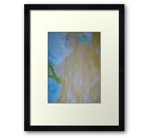 Golden Angel Framed Print