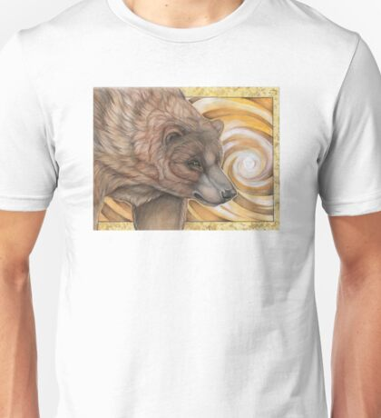 Grizzly Bear Spirit - Drawing Unisex T-Shirt