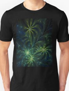 Weed - Abstract Fractal Artwork Unisex T-Shirt