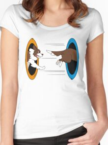 The Tail Chase Women's Fitted Scoop T-Shirt
