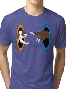 The Tail Chase Tri-blend T-Shirt