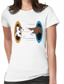 The Tail Chase Womens Fitted T-Shirt