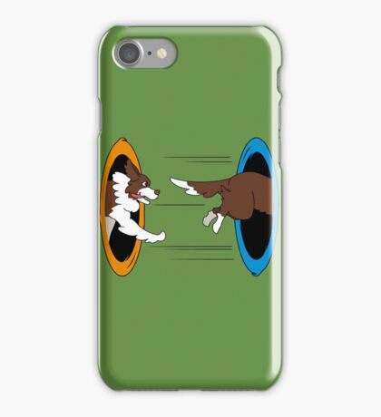 The Tail Chase iPhone Case/Skin