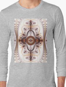Time machine - Abstract Fractal Artwork Long Sleeve T-Shirt