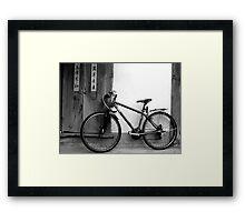 Bikes Rides Through Yesterday Framed Print