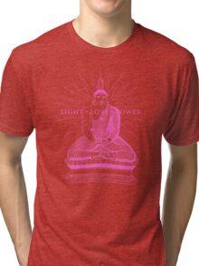 Buddha Light Love Power Tri-blend T-Shirt