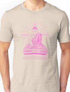 Buddha Light Love Power Unisex T-Shirt