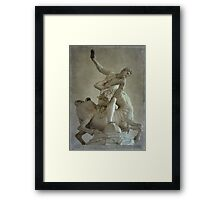 Hercules and Nesso Framed Print