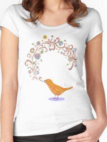 Birdsong Women's Fitted Scoop T-Shirt