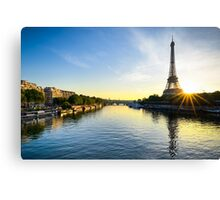 Paris Sunrise Canvas Print