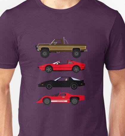 The Car's The Star: Glen A Larson Unisex T-Shirt