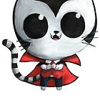 Cute Vampire Cat by colonelle