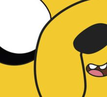 adventure time Jake the dog cartoon Sticker