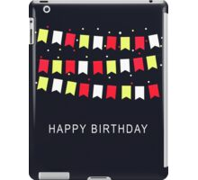 Vintage Birthday Card iPad Case/Skin