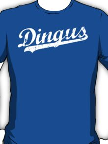 L.A. Dingus - The Blue Crew (White) T-Shirt