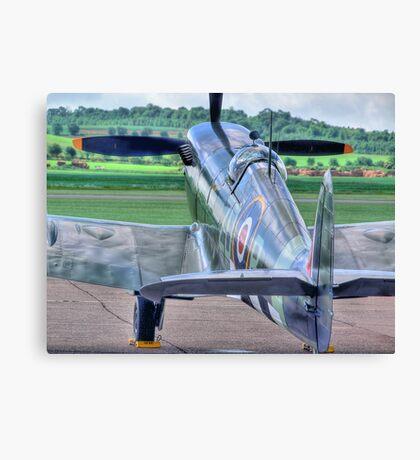 MH434 - Flightline - Duxford - 25.05.2014 Canvas Print