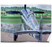 MH434 - Flightline - Duxford - 25.05.2014 Poster