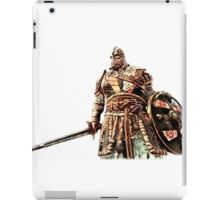 For Honor Cartoonlike Game Artwork - Viking Warrior with sword and shield red iPad Case/Skin