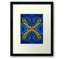 Modern Art - Xuberant - By Sharon Cummings Framed Print