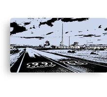 Route 66 Amboy CA Canvas Print