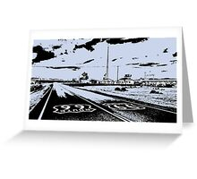 Route 66 Amboy CA Greeting Card