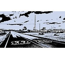 Route 66 Amboy CA Photographic Print