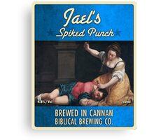 Bible Beer #2 Canvas Print