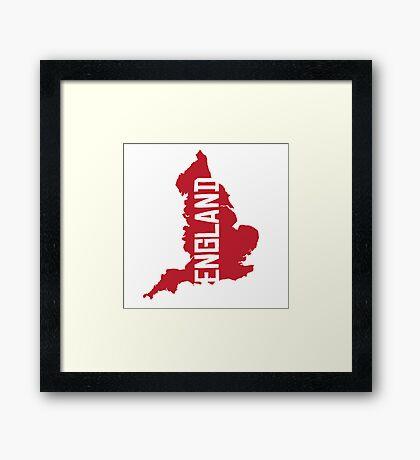 England Framed Print