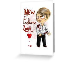 Hannibal - New fashion bloody look Greeting Card