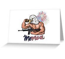 'Merica Greeting Card